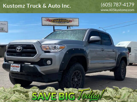 2017 Toyota Tacoma for sale at Kustomz Truck & Auto Inc. in Rapid City SD