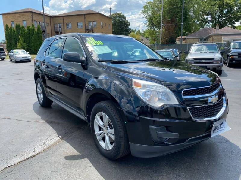 2010 Chevrolet Equinox for sale at Streff Auto Group in Milwaukee WI