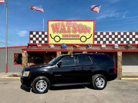2009 Chevrolet Tahoe for sale at Watson Motors in Poteau OK