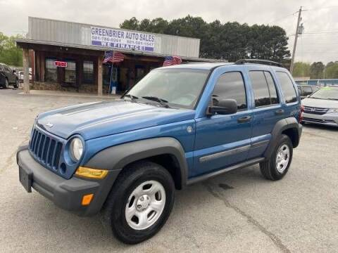2006 Jeep Liberty for sale at Greenbrier Auto Sales in Greenbrier AR