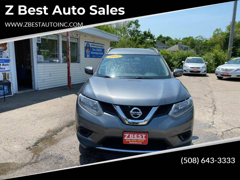 2015 Nissan Rogue for sale at Z Best Auto Sales in North Attleboro MA