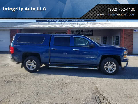 2015 Chevrolet Silverado 1500 for sale at Integrity Auto LLC - Integrity Auto 2.0 in St. Albans VT