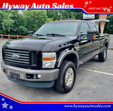 2008 Ford F-250 Super Duty for sale at Hyway Auto Sales in Lumberton NJ