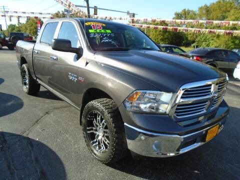2015 RAM Ram Pickup 1500 for sale at River City Auto Sales in Cottage Hills IL