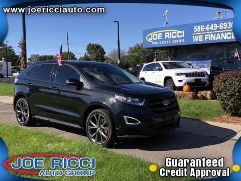 2015 Ford Edge for sale at JOE RICCI AUTOMOTIVE in Clinton Township MI