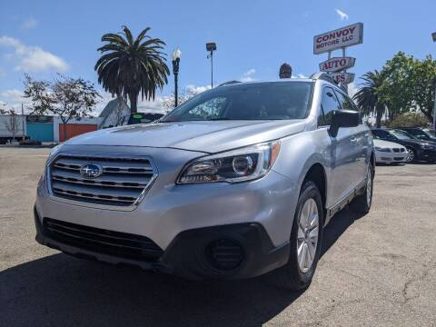 2017 Subaru Outback for sale at Convoy Motors LLC in National City CA