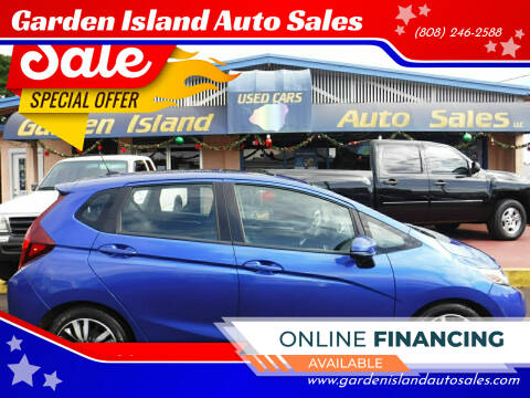 2015 Honda Fit for sale at Garden Island Auto Sales in Lihue HI