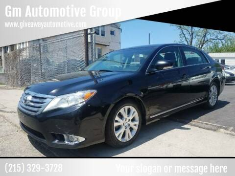 2012 Toyota Avalon for sale at GM Automotive Group in Philadelphia PA