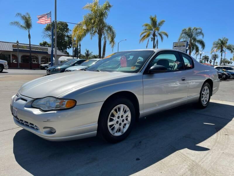 2005 Chevrolet Monte Carlo for sale at 3K Auto in Escondido CA