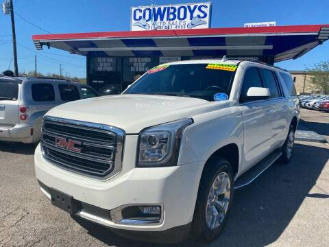 2018 GMC Yukon XL for sale at Cow Boys Auto Sales LLC in Garland TX