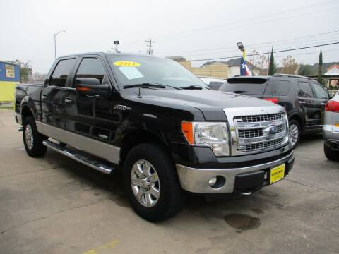 2013 Ford F-150 for sale at Metroplex Motors Inc. in Houston TX