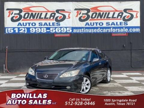 2009 Lexus ES 350 for sale at Bonillas Auto Sales in Austin TX