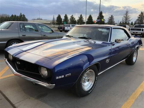 1969 Chevrolet Camaro for sale at Torgerson Auto Center in Bismarck ND