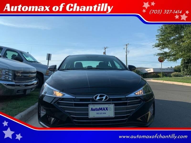 2019 Hyundai Elantra for sale at Automax of Chantilly in Chantilly VA