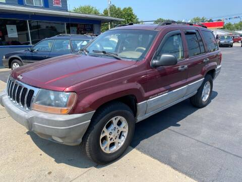 2000 Jeep Grand Cherokee for sale at Wise Investments Auto Sales in Sellersburg IN