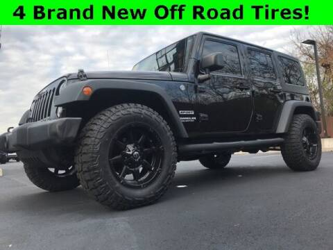 2017 Jeep Wrangler Unlimited for sale at Mark Sweeney Buick GMC in Cincinnati OH