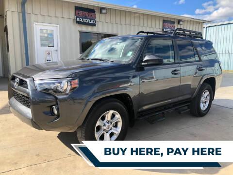 2019 Toyota 4Runner for sale at GRG Auto Plex in Houston TX