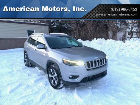 2019 Jeep Cherokee for sale at American Motors, Inc. in Farmington MN