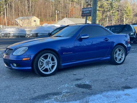 2002 Mercedes-Benz SLK for sale at Top Line Motorsports in Derry NH