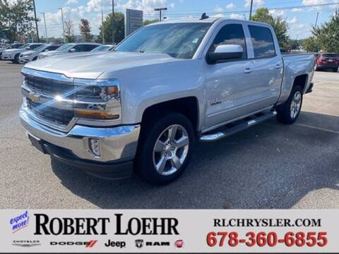 2018 Chevrolet Silverado 1500 for sale at Robert Loehr Chrysler Dodge Jeep Ram in Cartersville GA
