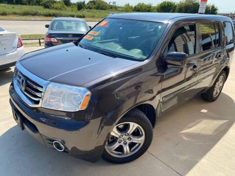 2013 Honda Pilot for sale at Raj Motors Sales in Greenville TX