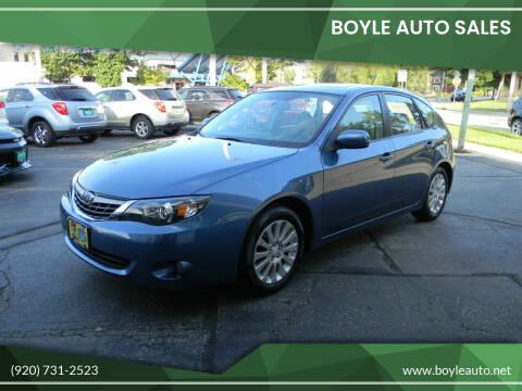 2009 Subaru Impreza for sale at Boyle Auto Sales in Appleton WI