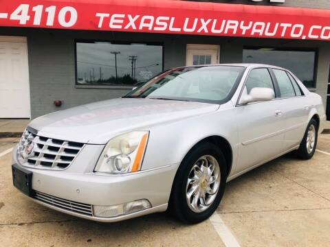 2011 Cadillac DTS for sale at Texas Luxury Auto in Cedar Hill TX