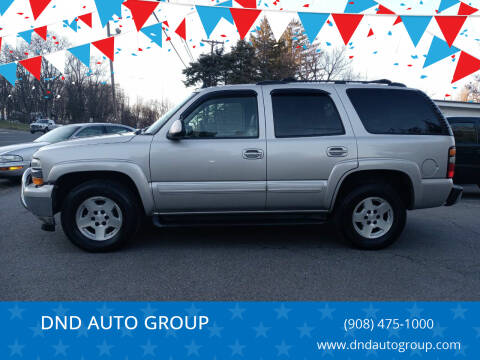 2006 Chevrolet Tahoe for sale at DND AUTO GROUP 2 in Asbury NJ