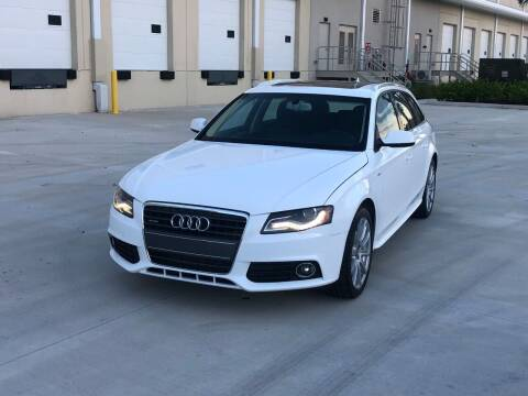2012 Audi A4 for sale at EUROPEAN AUTO ALLIANCE LLC in Coral Springs FL