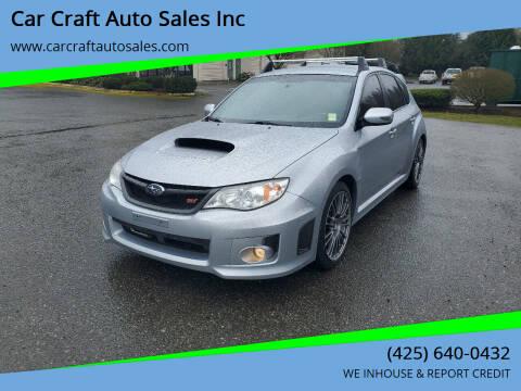 2013 Subaru Impreza for sale at Car Craft Auto Sales Inc in Lynnwood WA