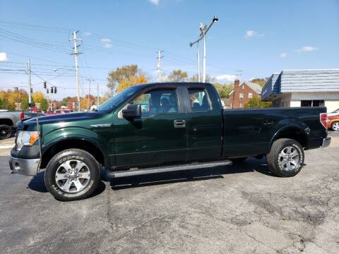 2013 Ford F-150 for sale at COLONIAL AUTO SALES in North Lima OH