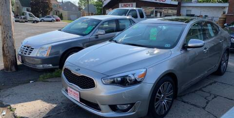 2014 Kia Cadenza for sale at Frank's Garage in Linden NJ