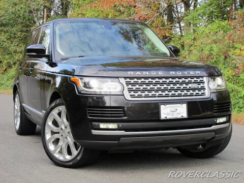 2015 Land Rover Range Rover for sale at Isuzu Classic in Cream Ridge NJ