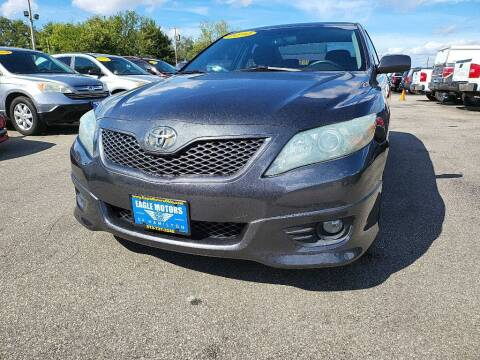 2010 Toyota Camry for sale at Eagle Motors in Hamilton OH