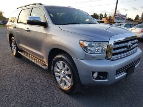 2012 Toyota Sequoia for sale at Arcia Services LLC in Chittenango NY