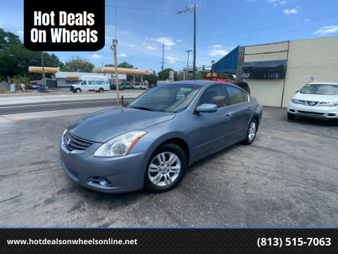 2012 Nissan Altima for sale at Hot Deals On Wheels in Tampa FL