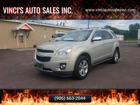2010 Chevrolet Equinox for sale at Vinci's Auto Sales Inc. in Bessemer MI