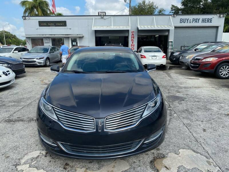 2013 Lincoln MKZ for sale at America Auto Wholesale Inc in Miami FL