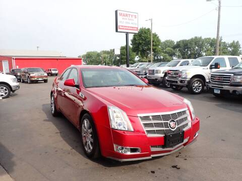 2009 Cadillac CTS for sale at Marty's Auto Sales in Savage MN