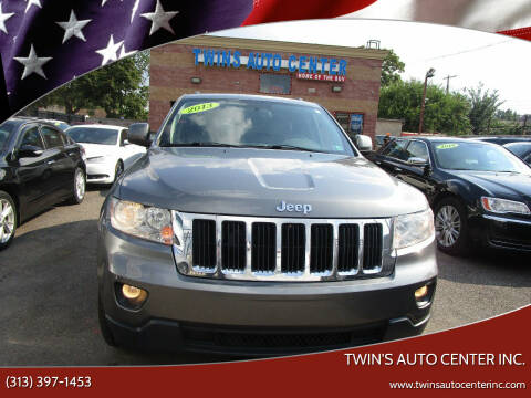 2013 Jeep Grand Cherokee for sale at Twin's Auto Center Inc. in Detroit MI