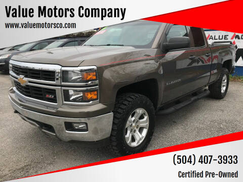 2014 Chevrolet Silverado 1500 for sale at Value Motors Company in Marrero LA