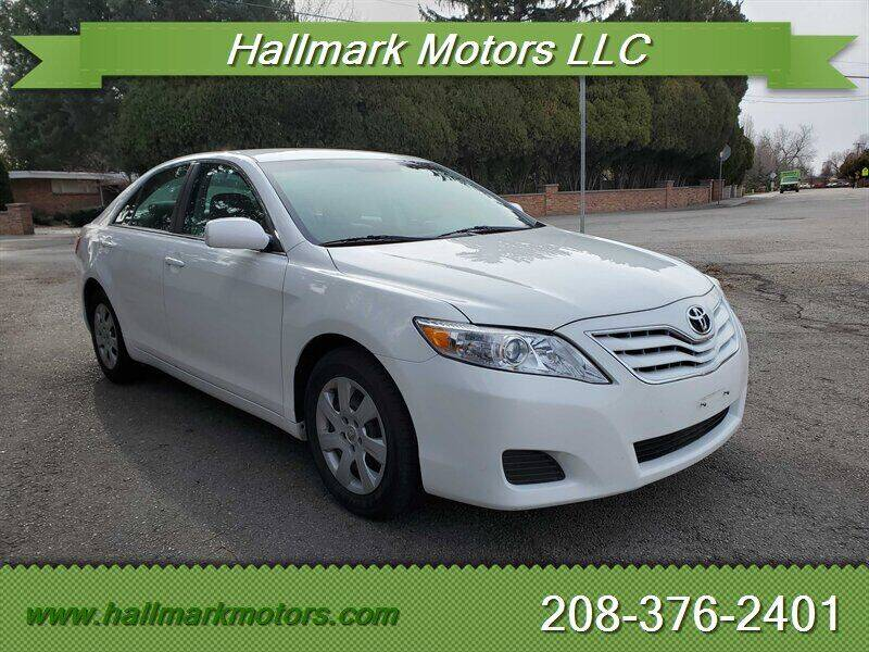 2010 Toyota Camry for sale at HALLMARK MOTORS LLC in Boise ID
