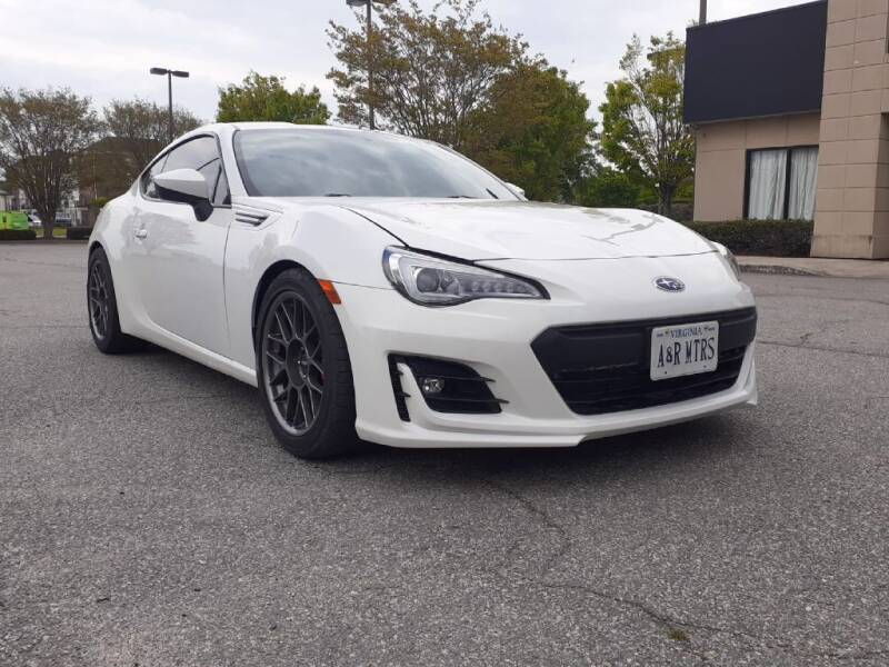 2018 Subaru BRZ for sale at A&R MOTORS in Portsmouth VA