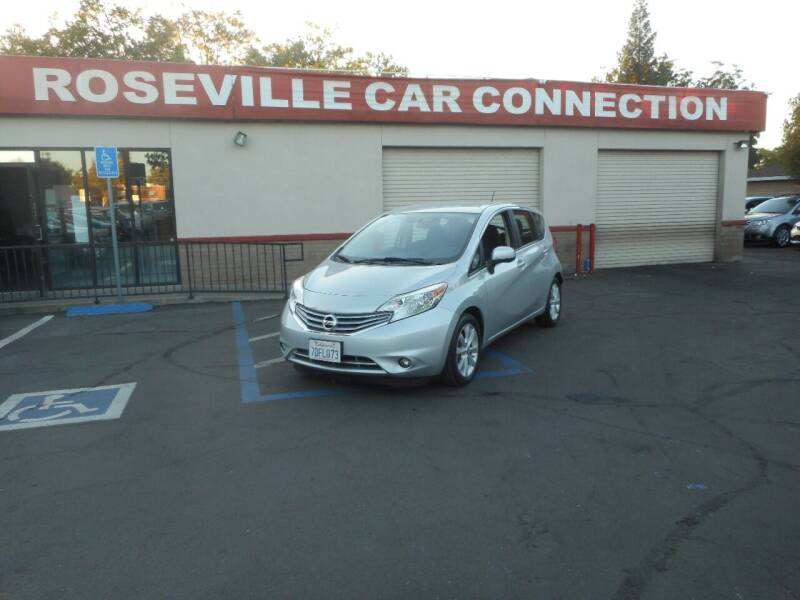 2014 Nissan Versa Note for sale at ROSEVILLE CAR CONNECTION in Roseville CA