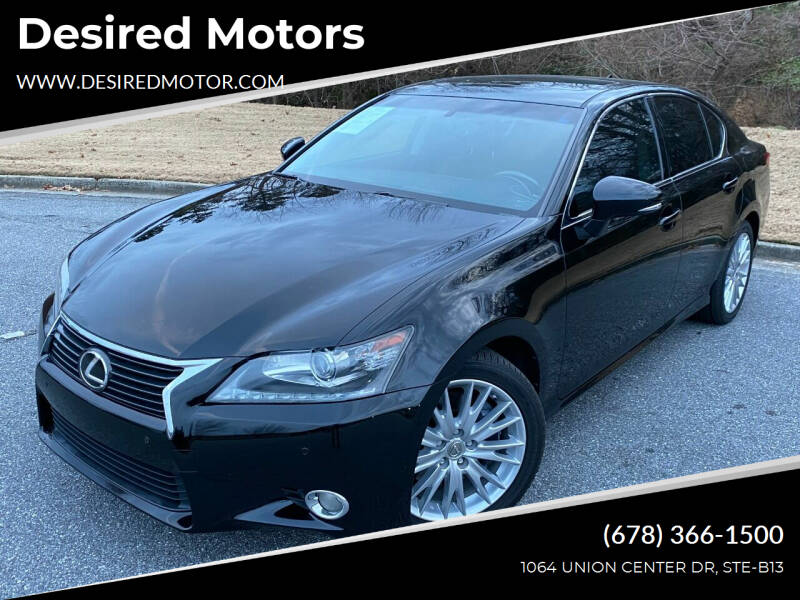2013 Lexus GS 350 for sale at Desired Motors in Alpharetta GA