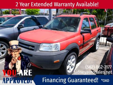 2003 Land Rover Freelander for sale at Sidney Auto Sales in Downey CA