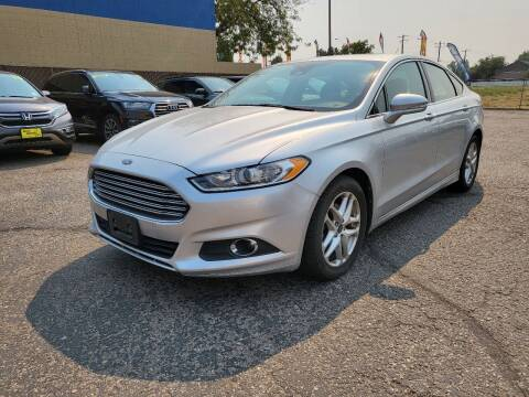 2013 Ford Fusion for sale at M.A.S.S. Motors - MASS MOTORS in Boise ID