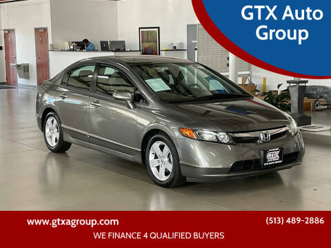 2007 Honda Civic for sale at GTX Auto Group in West Chester OH