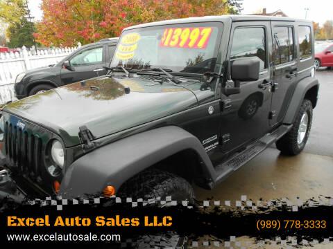 2010 Jeep Wrangler Unlimited for sale at Excel Auto Sales LLC in Kawkawlin MI