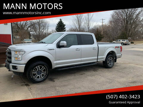 2015 Ford F-150 for sale at MANN MOTORS in Albert Lea MN